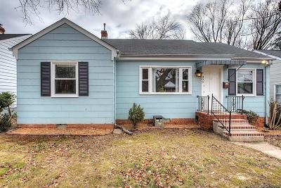 Richmond Single Family Home For Sale: 809 West 47th Street