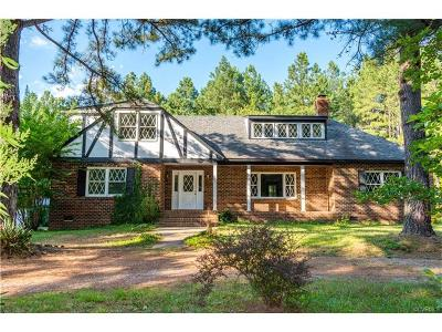 Powhatan County Single Family Home For Sale: 1418 Dorset Road