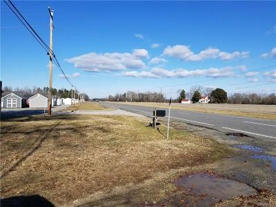 King William County Single Family Home For Sale: 7067 Richmond Tappahannock Highway