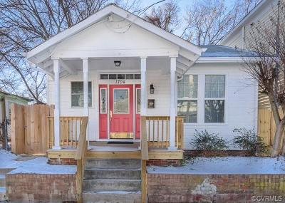 Richmond Single Family Home For Sale: 1704 Stockton Street