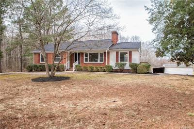 Farmville Single Family Home For Sale: 1862 Back Hampden Sydney Road