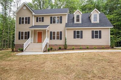 Swift Creek Estates Single Family Home For Sale: 17401 Simmons Branch Terrace