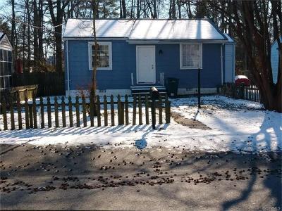Richmond Single Family Home For Sale: 2113 Bremo Road