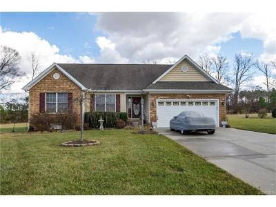 Prince George VA Single Family Home For Sale: $249,950