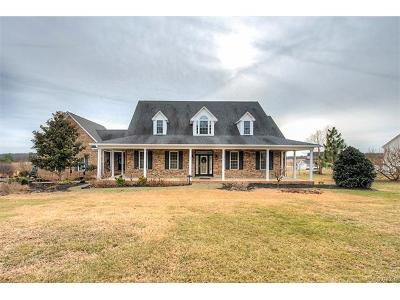 Amelia County Single Family Home For Sale: 9981 Loblolly Terrace