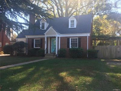 Henrico Single Family Home For Sale: 6605 Monument Avenue