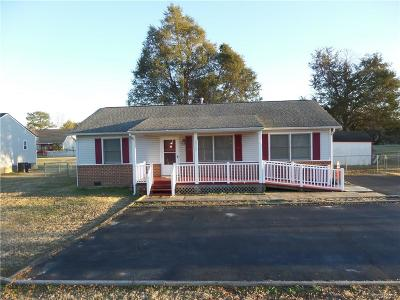 Petersburg VA Single Family Home For Sale: $142,000