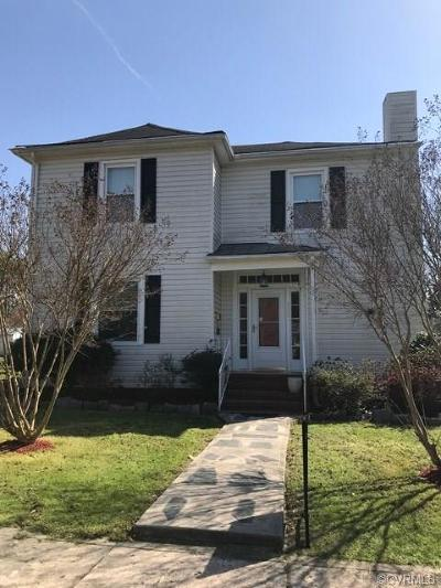 Nottoway County Single Family Home For Sale: 303 Oliver St