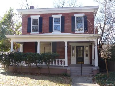 Richmond Single Family Home For Sale: 2815 Grove Avenue