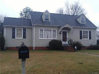 Henrico Single Family Home For Sale: 2001 McDonald Road
