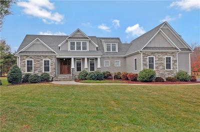 Powhatan County Single Family Home For Sale: 3051 St Marys Way