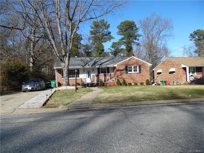Colonial Heights VA Single Family Home Sold: $169,900
