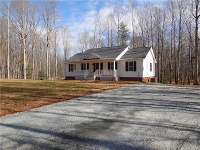 Louisa Single Family Home For Sale: 1029 Walton Store Road