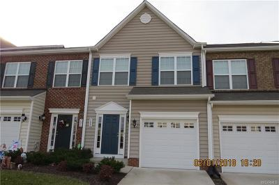 Hanover County Condo/Townhouse For Sale: 7689 Marshall Arch Drive #7689