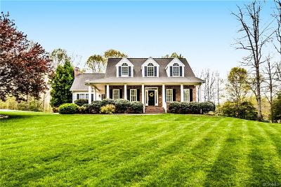 Powhatan County Single Family Home For Sale: 2829 Valley Springs Road