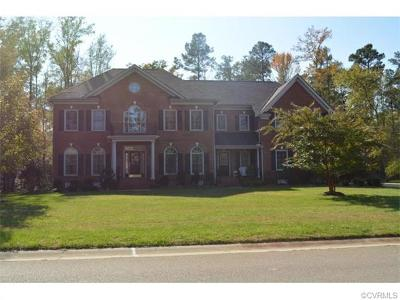 Chester Single Family Home For Sale: 11706 Shallow Cove Drive
