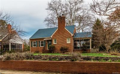Richmond Single Family Home For Sale: 1214 Whitby Road