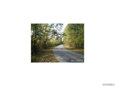 Dinwiddie County Residential Lots & Land For Sale: Lot A Glebe Road