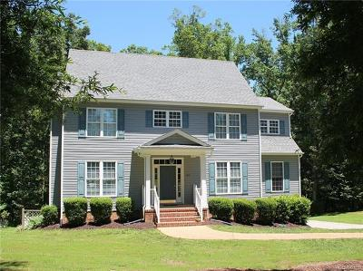 Powhatan Single Family Home For Sale: 1442 East Overlook Drive