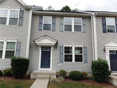 North Chesterfield VA Condo/Townhouse Sold: $160,000