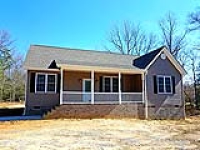 Charles City VA Single Family Home Pending: $229,500