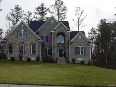 Chesterfield Single Family Home For Sale: 19931 East Chesdin Harbor Drive