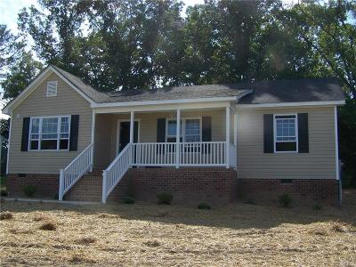 Dinwiddie County Single Family Home For Sale: 4005 Moss Point Drive