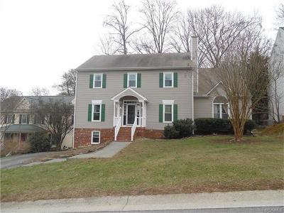 Richmond Single Family Home For Sale: 2513 Trefoil Way