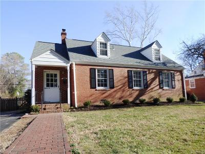Richmond Single Family Home For Sale: 913 Orchard Road