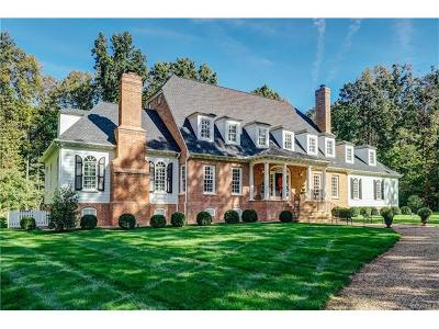 Mechanicsville Single Family Home For Sale: 8000 Toms Drive