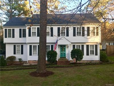 Henrico Single Family Home For Sale: 607 Westham Woods Drive