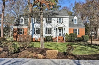 Henrico Single Family Home For Sale: 10810 North Bank Road