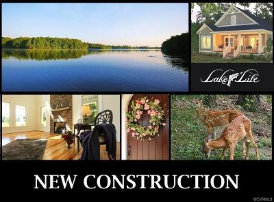 Amelia County Single Family Home For Sale: 2.4 Acres Genito Road