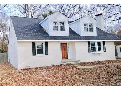 Colonial Heights VA Single Family Home For Sale: $179,900