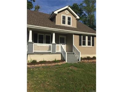 Farmville Single Family Home For Sale: 2785 Cumberland Road