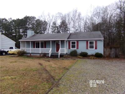 Dinwiddie County Single Family Home For Sale: 5108 Yellowstone Drive