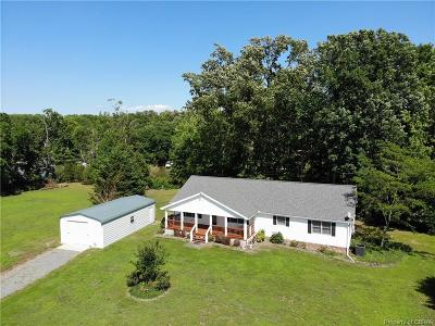 Heathsville Single Family Home For Sale: 109 Floral Lane