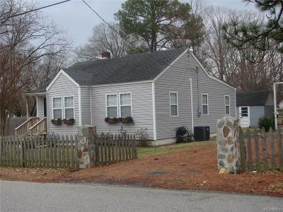 Hopewell VA Single Family Home For Sale: $114,900