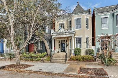 Richmond Single Family Home For Sale: 1612 Hanover Avenue