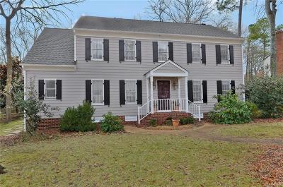 Henrico Single Family Home For Sale: 12411 Seahaven Drive