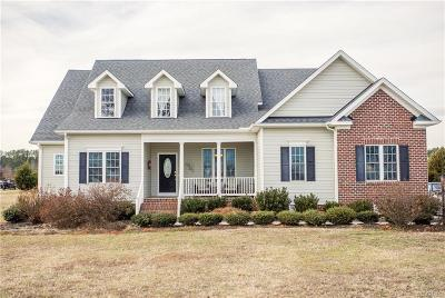 Amelia County Single Family Home For Sale: 11470 Springhouse Way