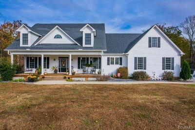 Powhatan County Single Family Home For Sale: 1950 Rocky Ford Road