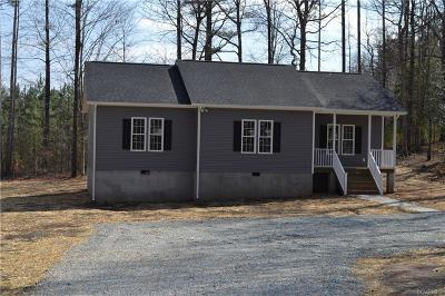 Powhatan Single Family Home For Sale: 4558 Powhatan Lakes Road