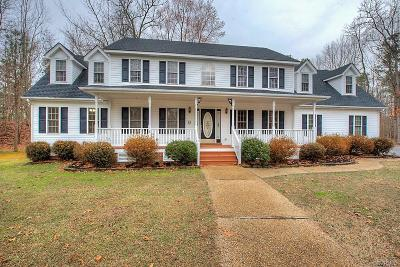 Chesterfield County Single Family Home For Sale: 1213 Rockbasket Lane