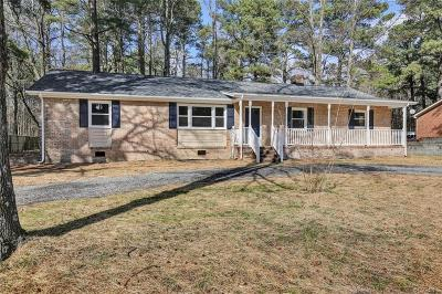Petersburg Single Family Home For Sale: 1959 Vesonder Road