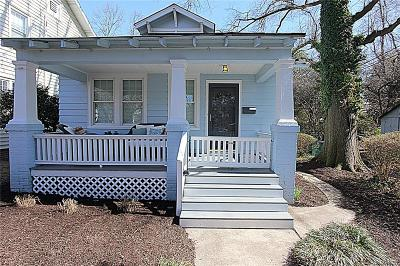 Richmond Single Family Home For Sale: 4007 Chevy Chase Street