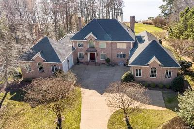 Williamsburg VA Single Family Home For Sale: $1,995,000