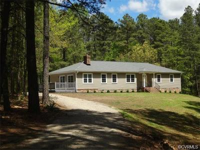 Hanover Single Family Home For Sale: 8074 Peaks Road