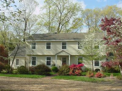 Midlothian Single Family Home For Sale: 12921 Robious Road