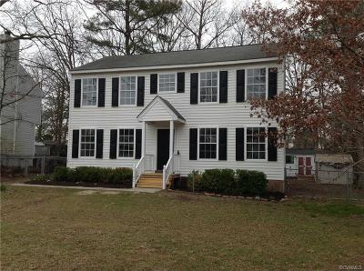 Chesterfield County Single Family Home For Sale: 1102 Traywick Court